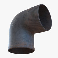 max iron pipe elbow