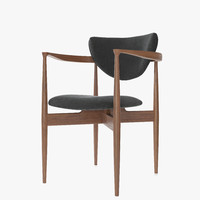 dane arm dining chair 3d max