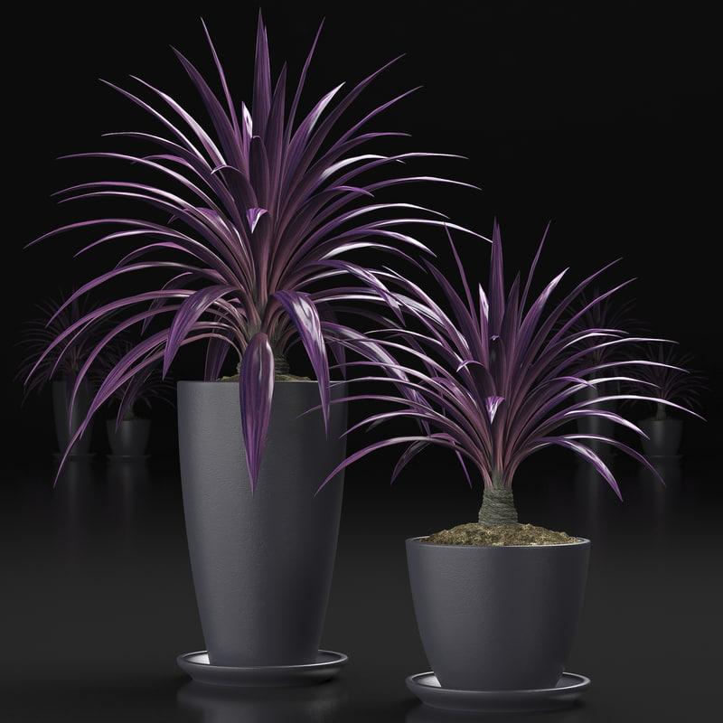 plant 16 3d model