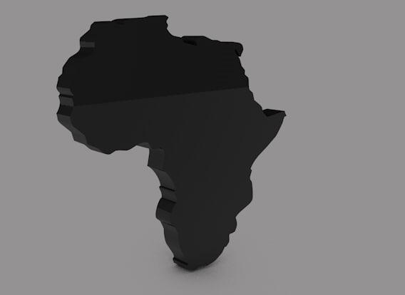 africa 3d c4d