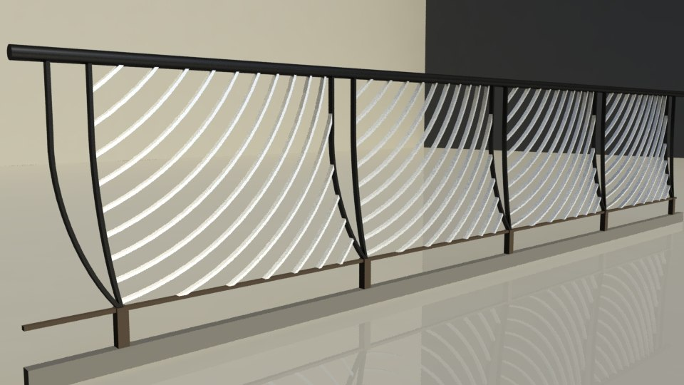 fbx decorative iron fence