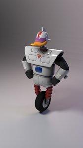 gizmoduck duck gizmo 3d fbx