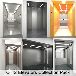 3d otis elevators pack
