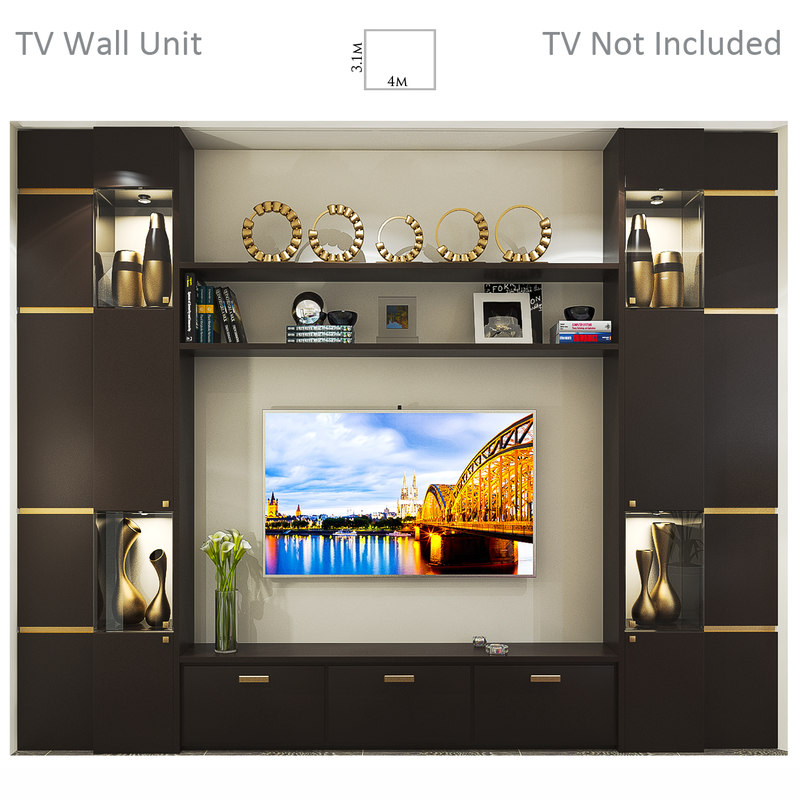 tv wall unit max