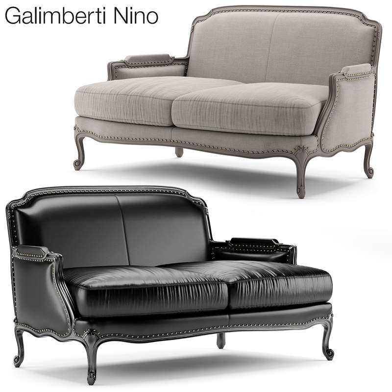 3d model pigra divano divan
