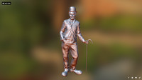 Charlie Chaplin Standing 1