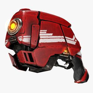 3d close plasma weapon