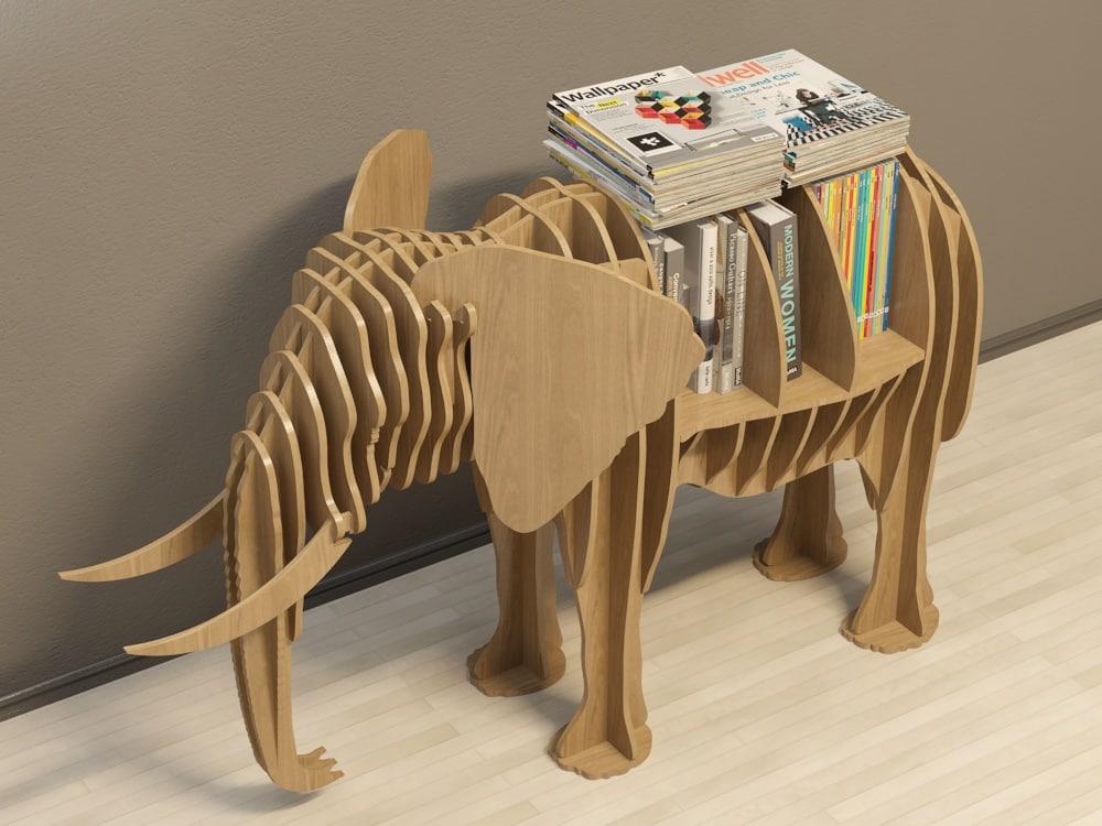 stylized coffee table 3d obj