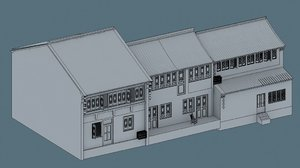 3d model china house07