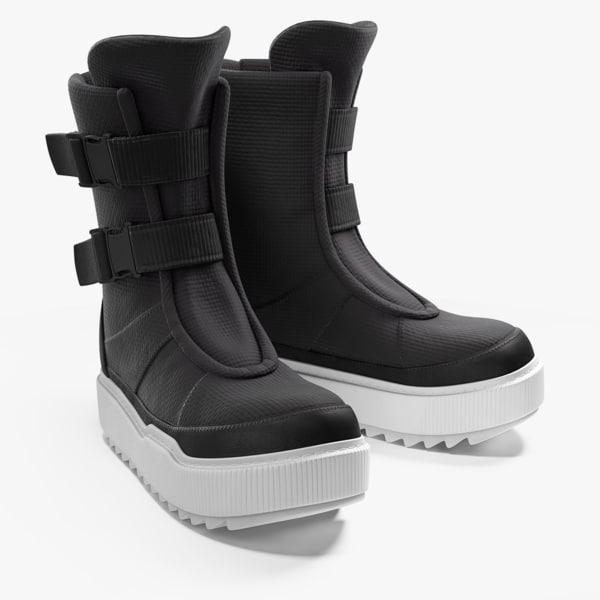 3d shoes pbr marmoset