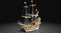 golden hind galleon max
