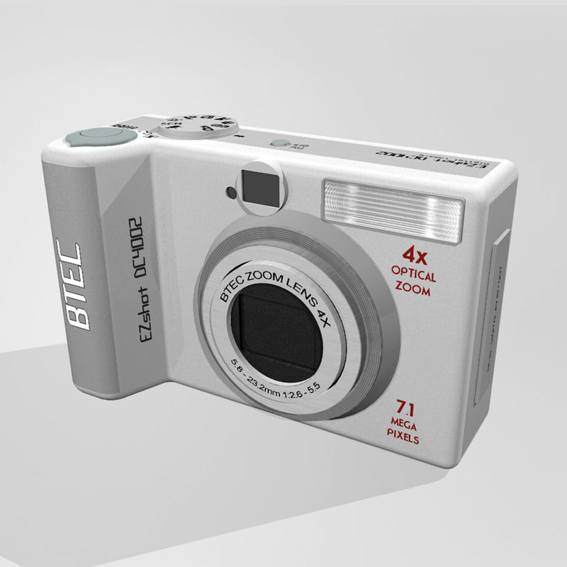 c4d digital camera btec