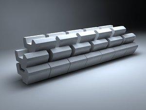 precast concrete 3ds