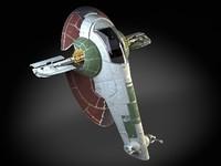3d model of star wars boba
