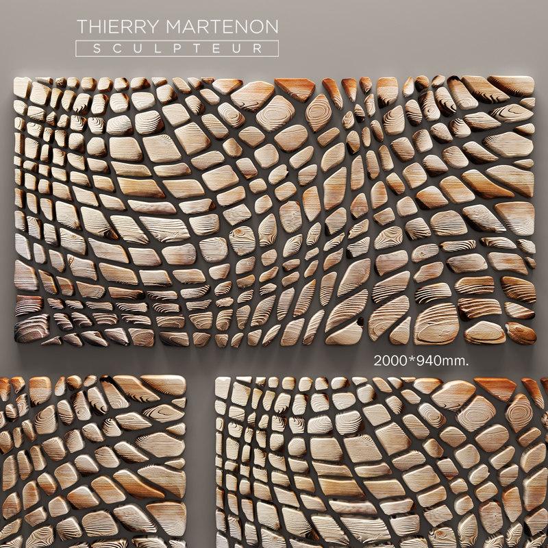 max thierry martenon wall panel