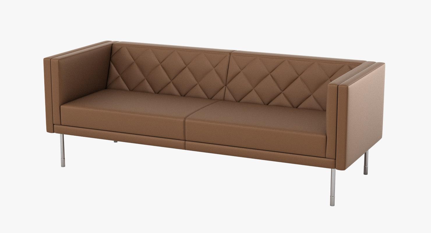halle harlequin sofa 3d max