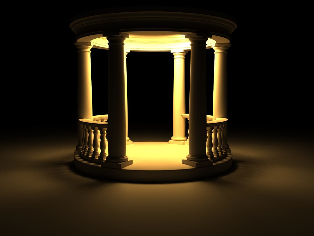 3d model of rotunda