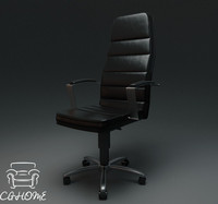 free office chair 3d model