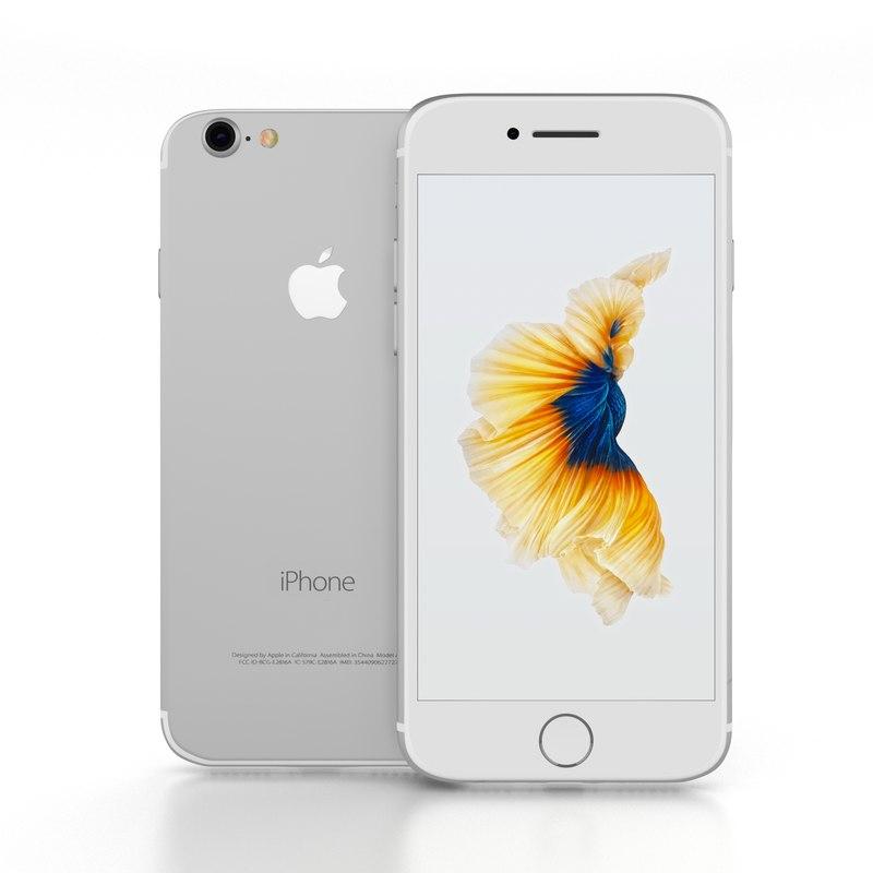 iphone 7 3d obj