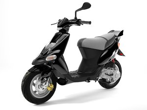 scooter gilera stalker 1 max