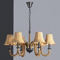3d hanging lamp loft