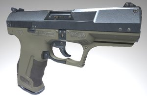 walther p99 pistol obj