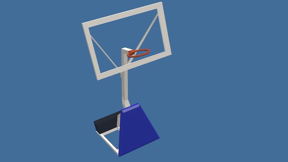 basketball court blend