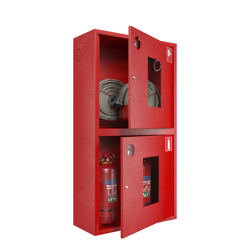 hose case extinguishe 3d model