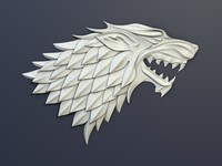 thrones house stark heraldry max