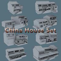 china house 3d max