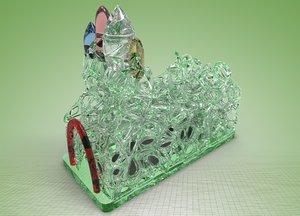 3d model generative lamps