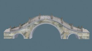 china bridge01 3d model