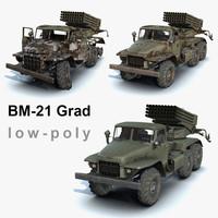 set bm-21 grad 3d max