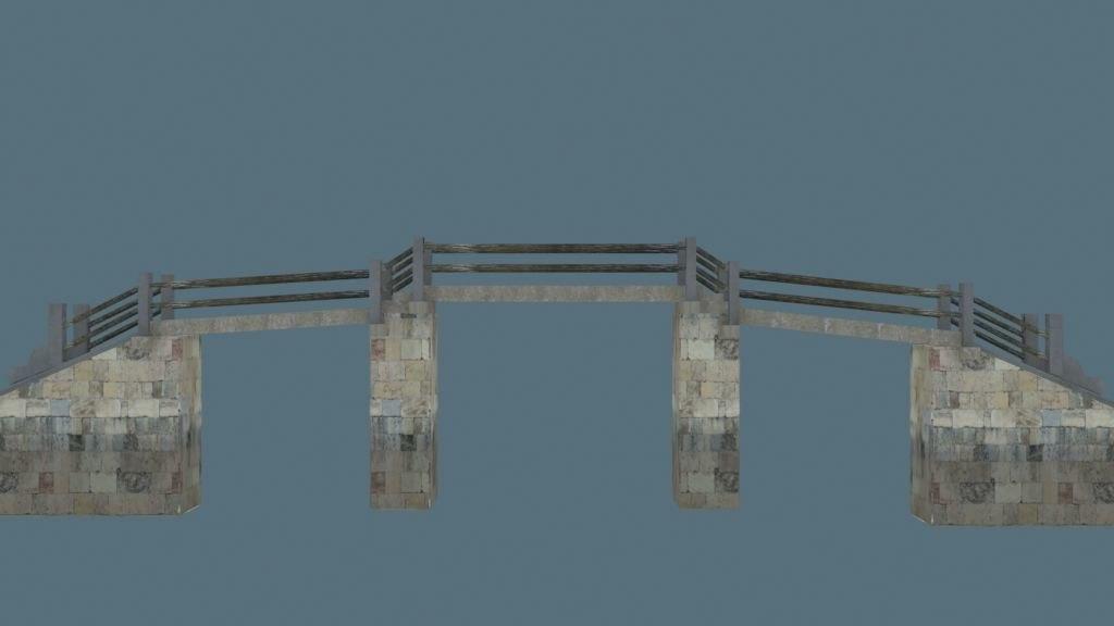 3d china bridge03
