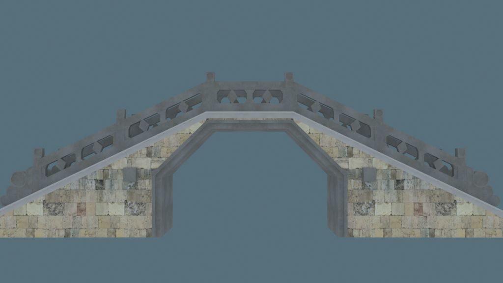 3d china bridge04