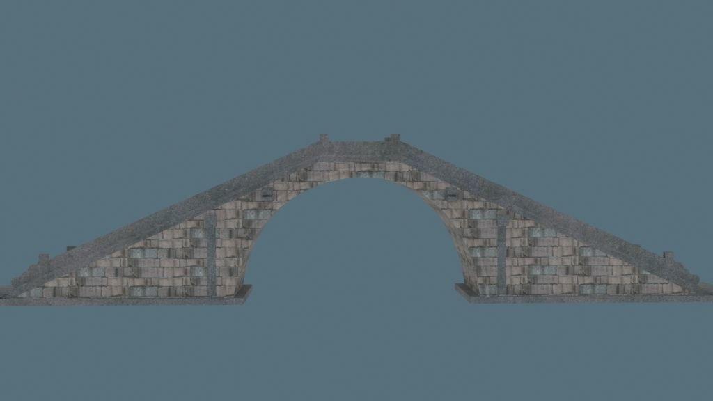 3d china bridge05