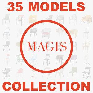 3d magis chairs
