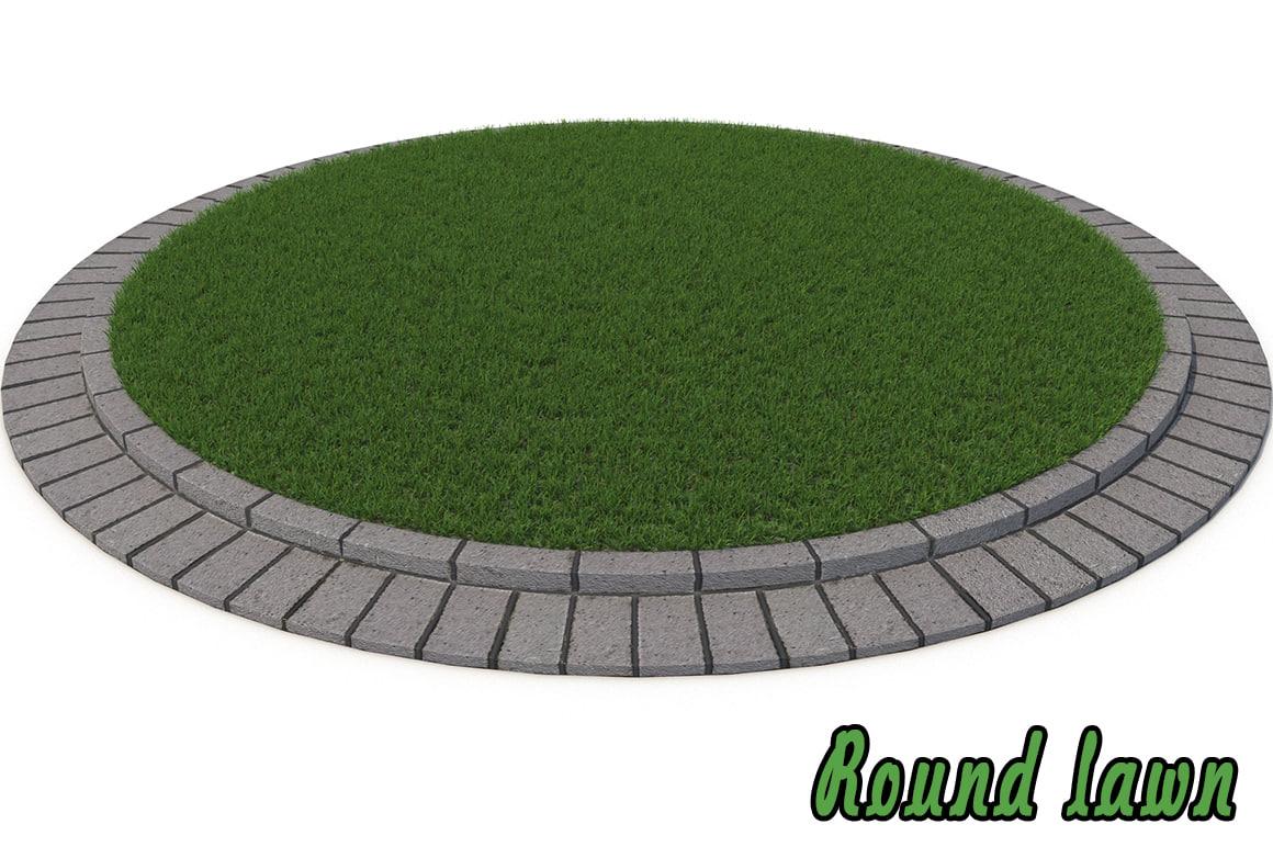 lawn 3d max