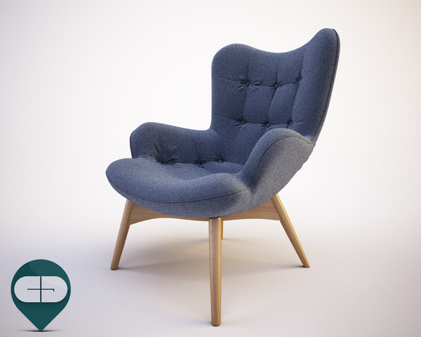 3d grand featherston chair