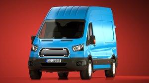 3d generic cargo van