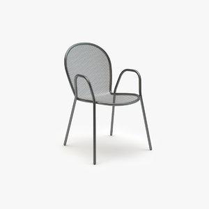 3d emu ronda armchair