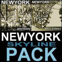 Newyork Skyline Pack