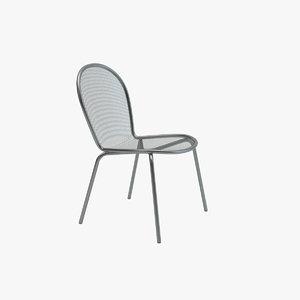 emu ronda chair 3d max