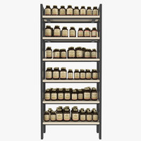 Supplement Bottle Stand Display
