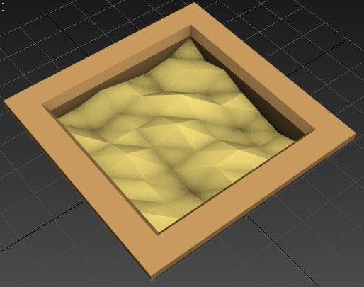 3d sandbox model