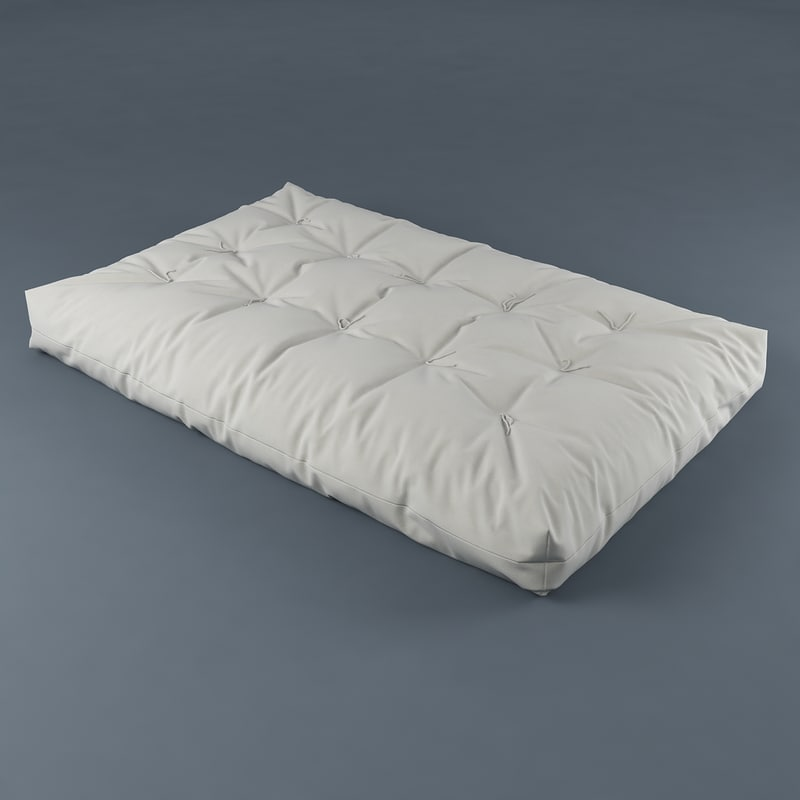 3d mattress model