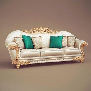 1d arte arredo sofa 3d model