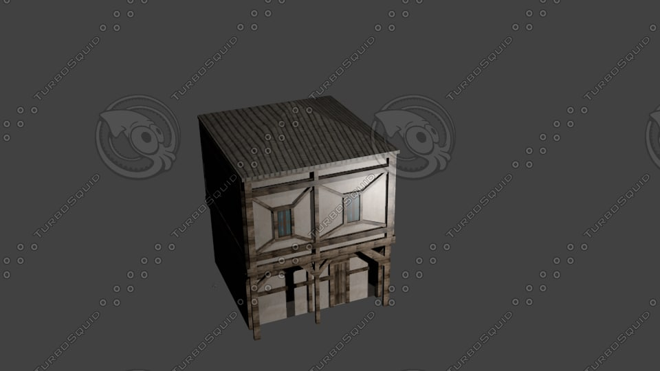 medieval smith house 3d model