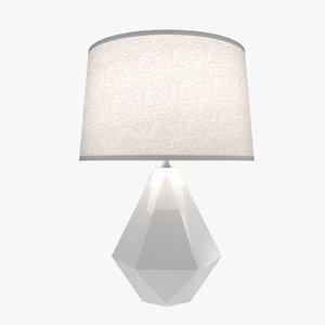 table lamp modern - 3d max