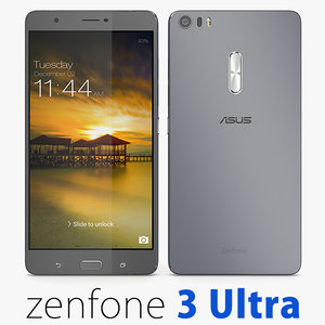 asus zenfone 3 ultra 3d model